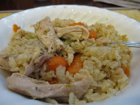 Bready or Not: One-Pot Chicken and Brown Rice