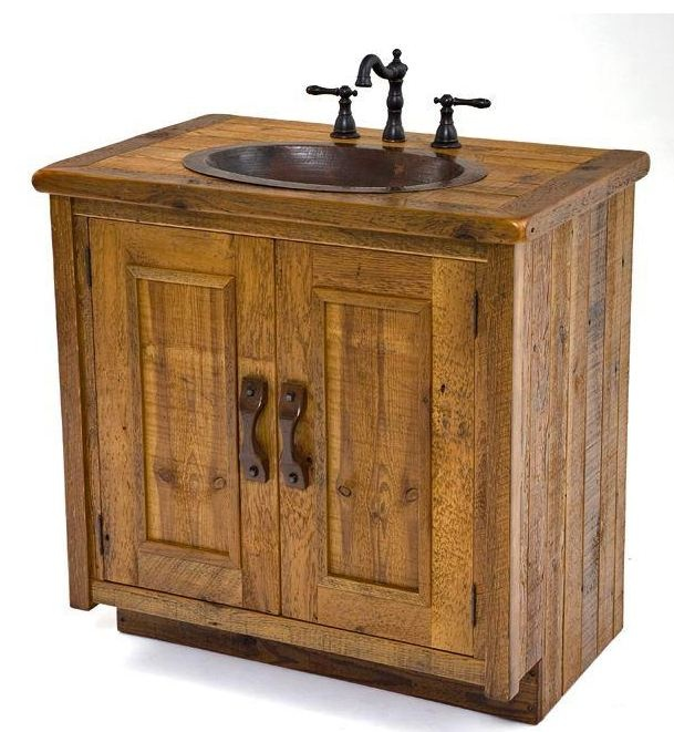 30 Bathroom Vanity Reclaimed Barnwood Inspiration Pinterest