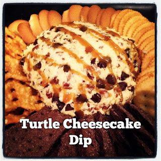 Quick & Simple Dessert ~ Turtle Cheesecake Dip ~ Rayah Sunshine