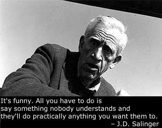 Salinger Quotes. QuotesGram