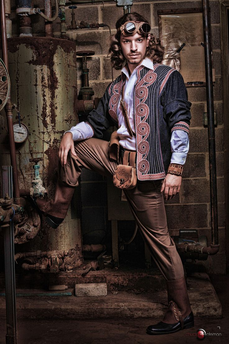 Steampunk Circus Makeup Mens Fashion Via Melanie Karsak