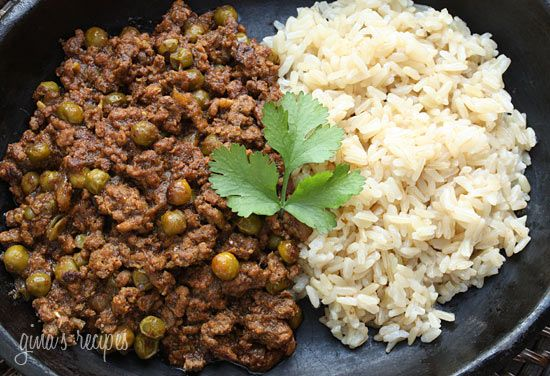 Lamb Kheema with Peas - I love this Indian dish because it is easy to ...