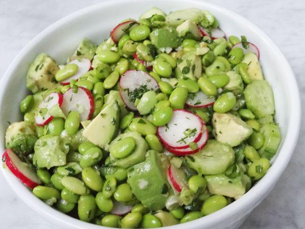 Edamame Salad for Meatless Monday ! » Nili Stevens Blog