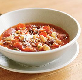 Roasted Vegetable Minestrone | Soups & Stews | Pinterest