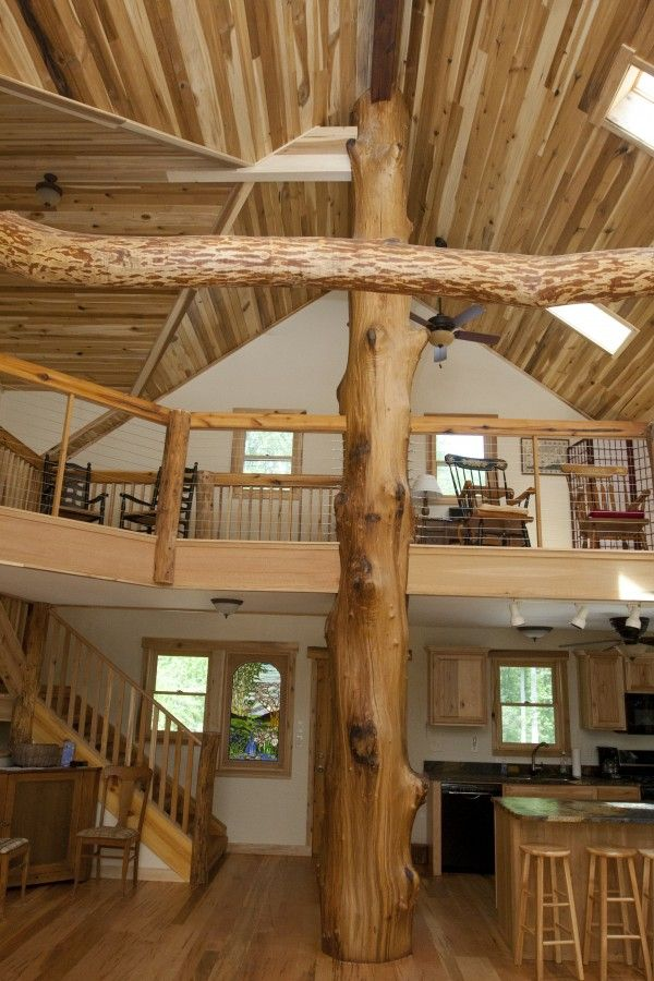 Natural wood interior dream home pinterest for Natural home interiors
