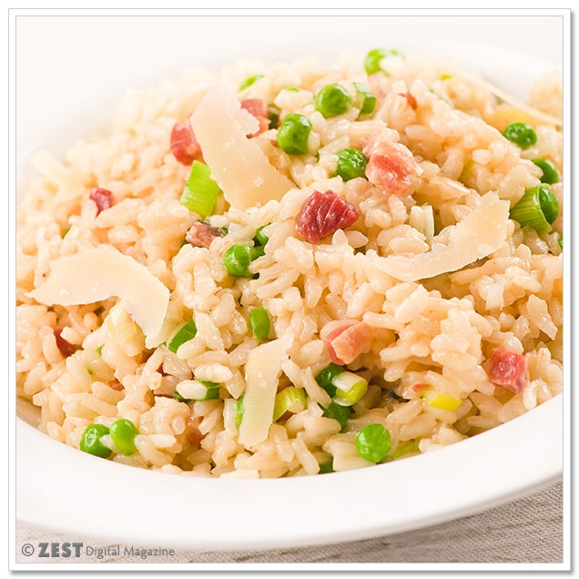 Risotto Primavera | .:: Best Italian Recipes ::. | Pinterest