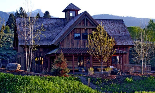 Old Reclaimed Barn Turned Into A Home Rustic Elegance Pinterest
