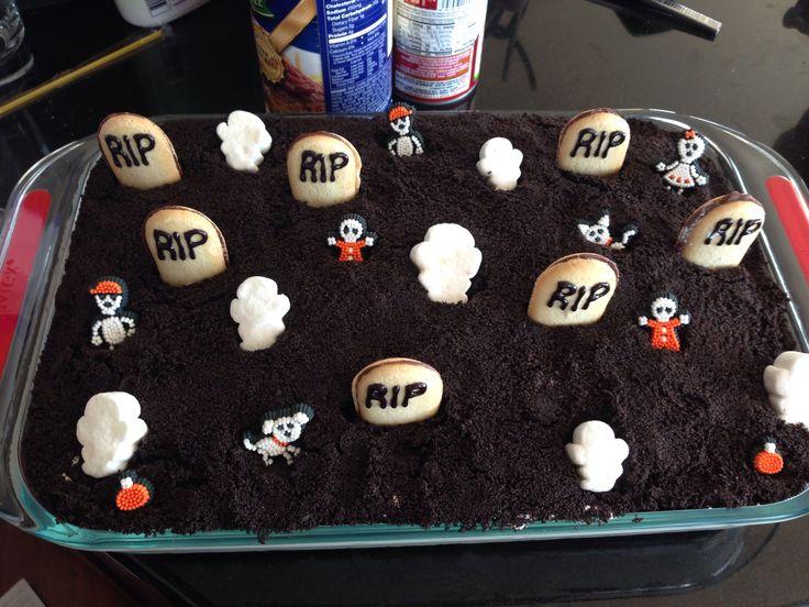 Halloween dirt cake calories?! Pinterest