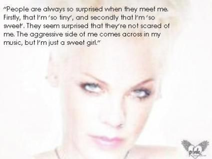 NK QUOTES The Official P!nk Site Quotes Pinterest