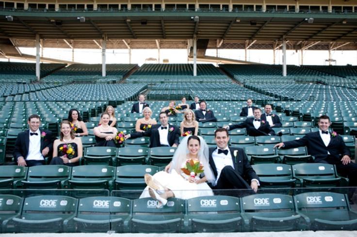 wrigley field wedding cubs my wedding pinterest