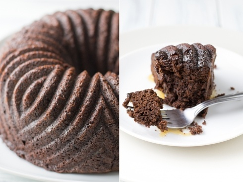 Chocolate-Ginger Cake With Bourbon Sauce Recipe — Dishmaps