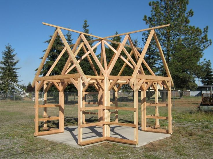 Timber Frame Kit Tents Hideaways Pinterest