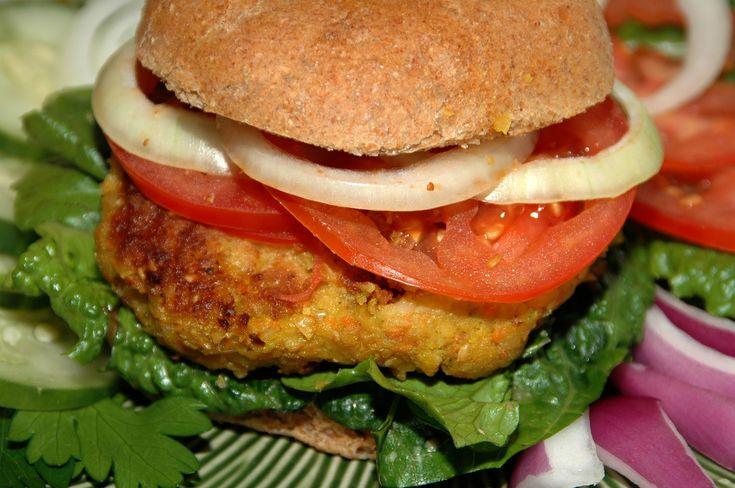 Garbanzo Burgers Recipe — Dishmaps
