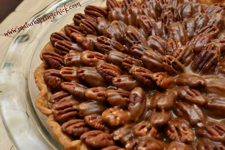Salted Chocolate Pecan Pie Recipe — Dishmaps