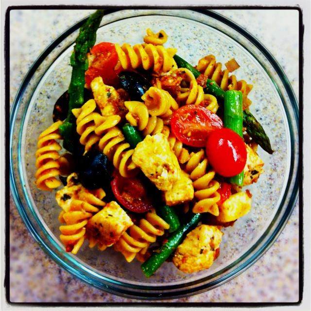 Sundried tomato pasta salad | foods | Pinterest