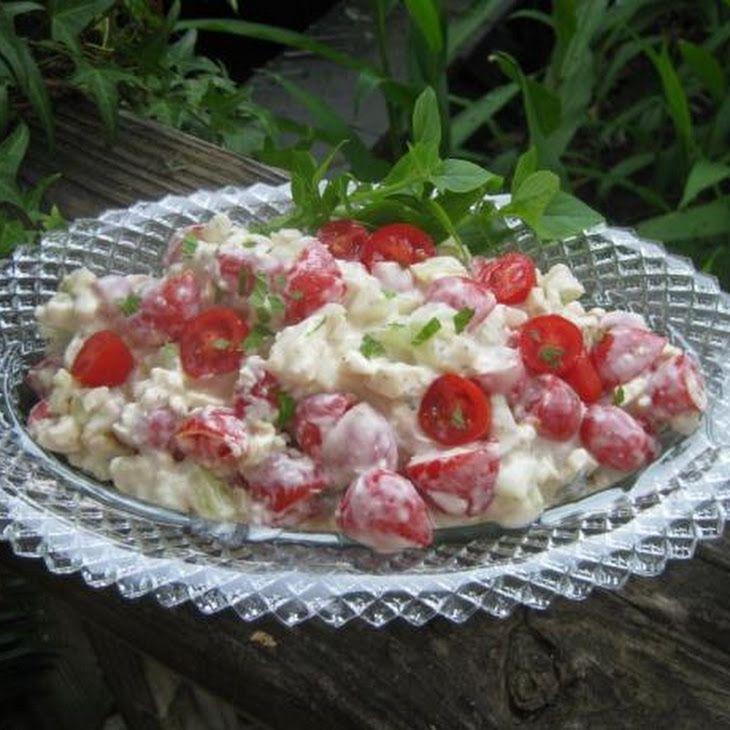 Minted Feta, Tomato and Cucumber Greek Salad Recipe