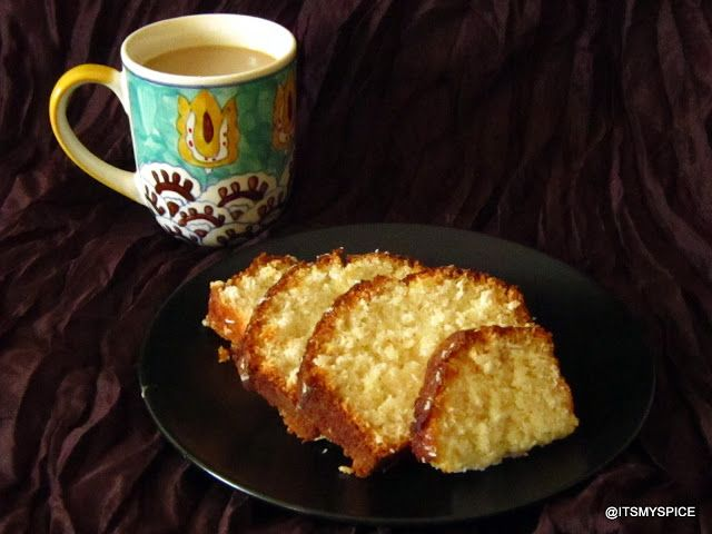 ... cake- a perfect cake as accomoaniment with your evening cuppa coffee