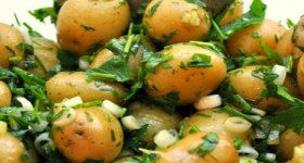 Herbed New Potato Salad | Food and Drinks | Pinterest