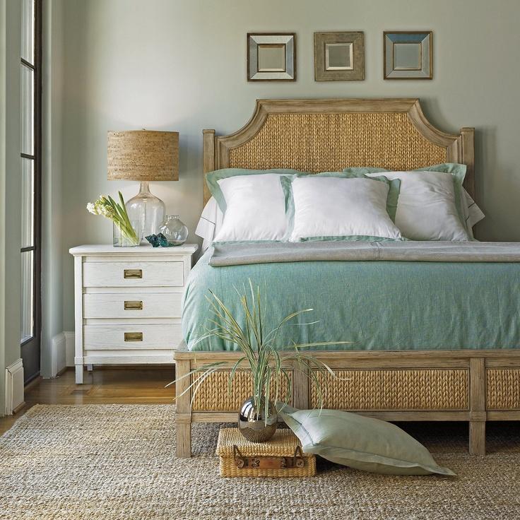 Turquoise room beachy peaceful room ideas pinterest Coastal master bedroom furniture