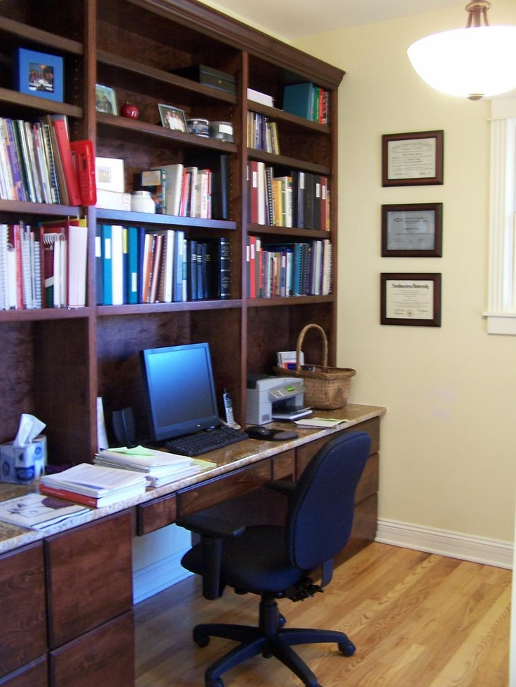 25 fantastic built in home office