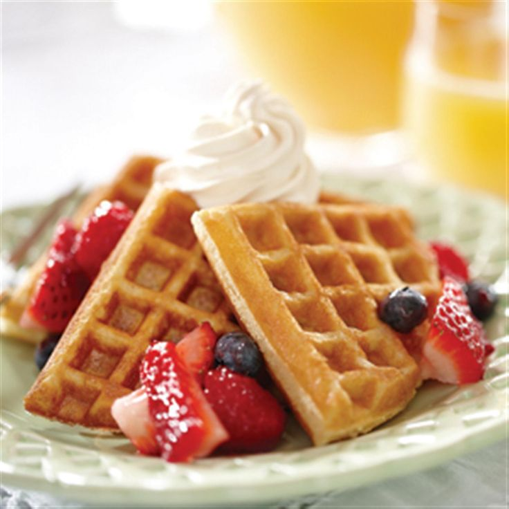 Sweet and Easy Waffles | Recipe