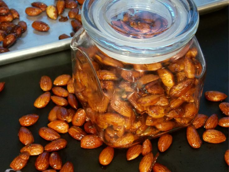Rosemary Chipotle Roasted Almonds | Fruit & Nuts | Pinterest