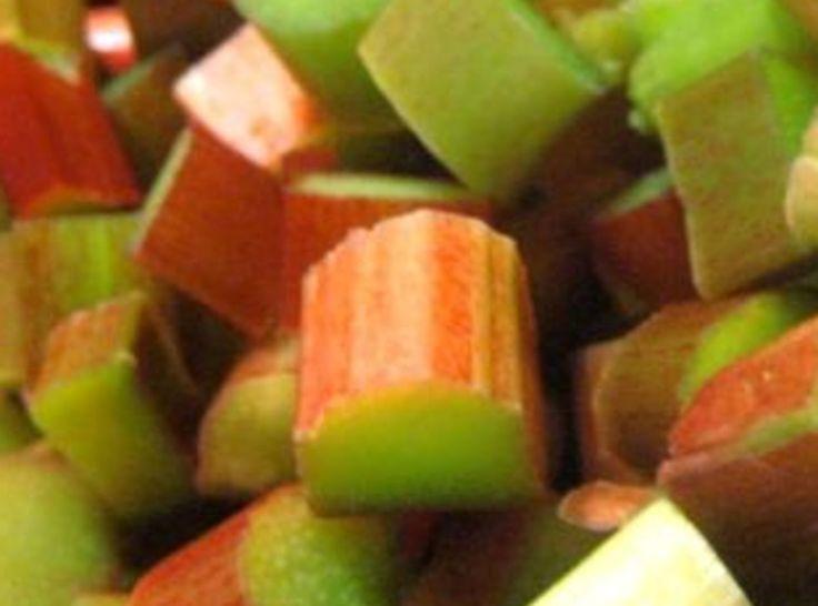 Easy Rhubarb Jam | Jams and Jellies | Pinterest