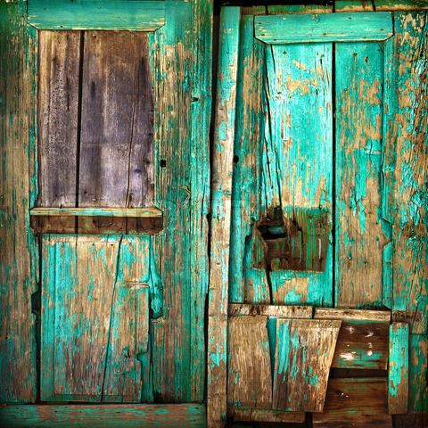 Old painted door health and well being pinterest - How to paint a wooden door ...