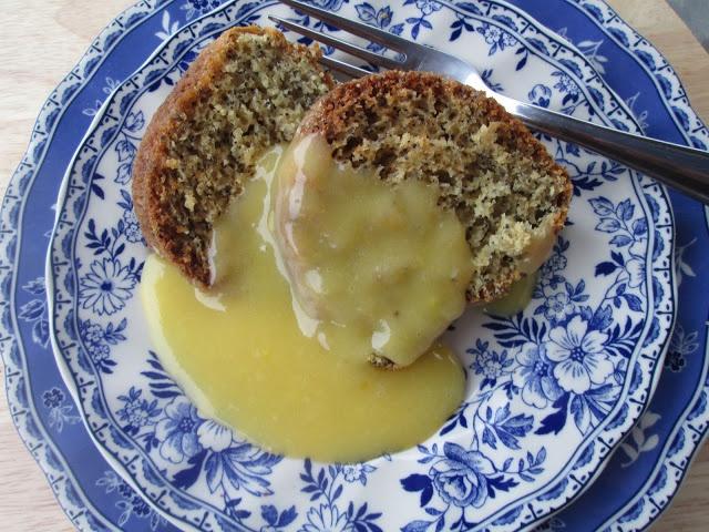 Lemon Poppy Seed Cake with Lemon Curd | More Recipes | Pinterest