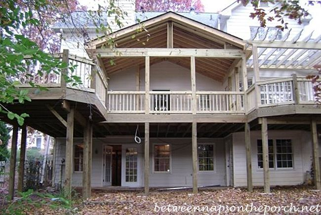 Two Story Porches Build A Porch Way Up High