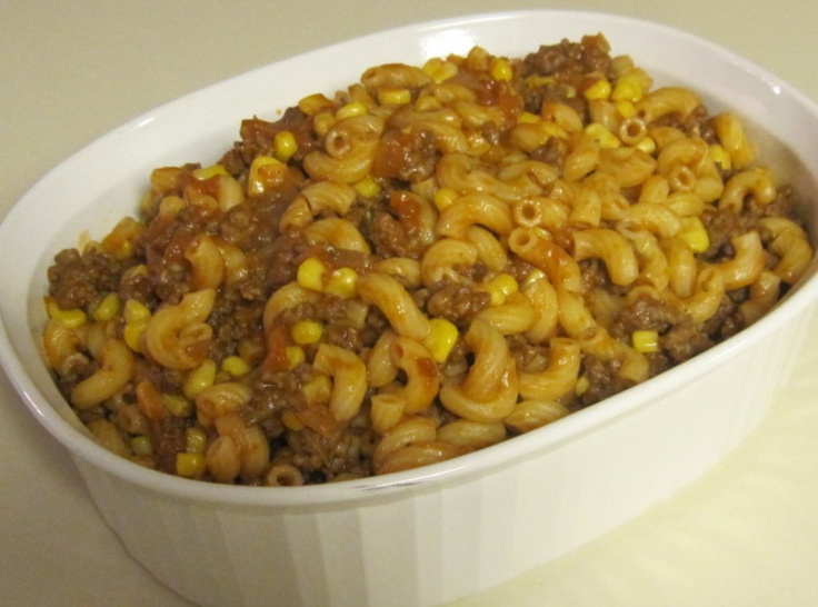 Kitty's Goulash - or Beef and Macaroni | Goulash | Pinterest