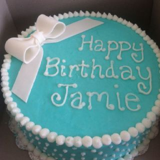 Tiffany blue birthday cake  catering  Pinterest