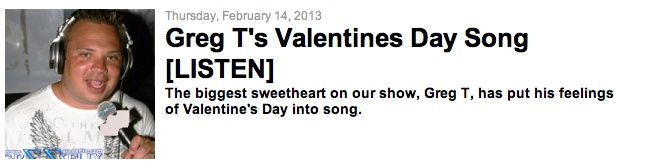 valentines day songs yahoo answers