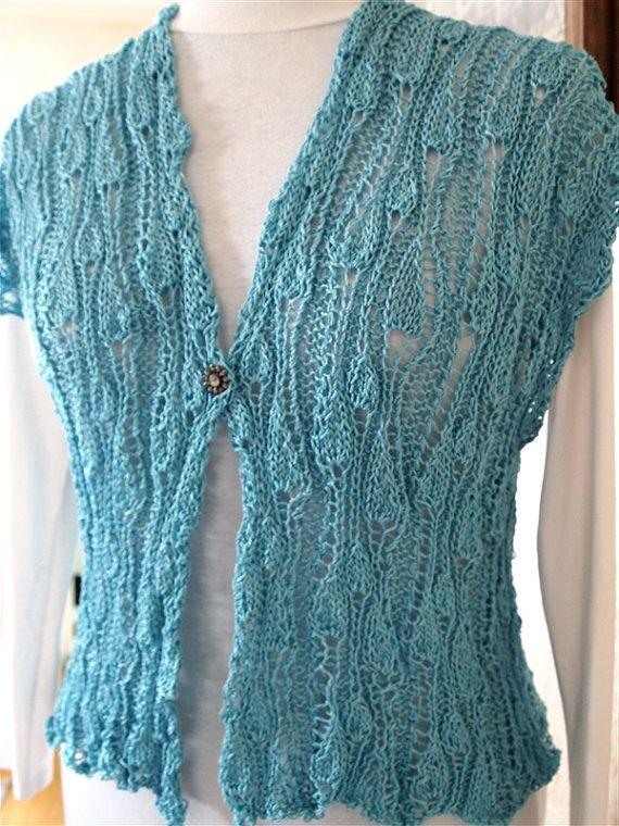 VineYard Vest PDF Hand Knitting Pattern by KnitChicGrace on Etsy, $4 ...