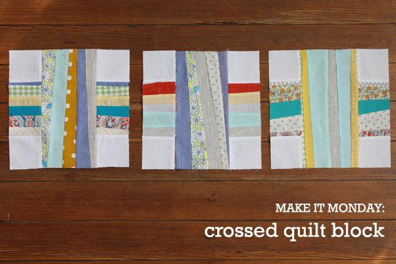 Crossed Quilt Block