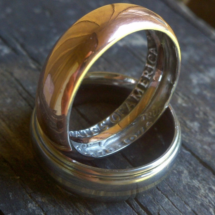 Kennedy Bicentennial Coin Ring.   Size 9