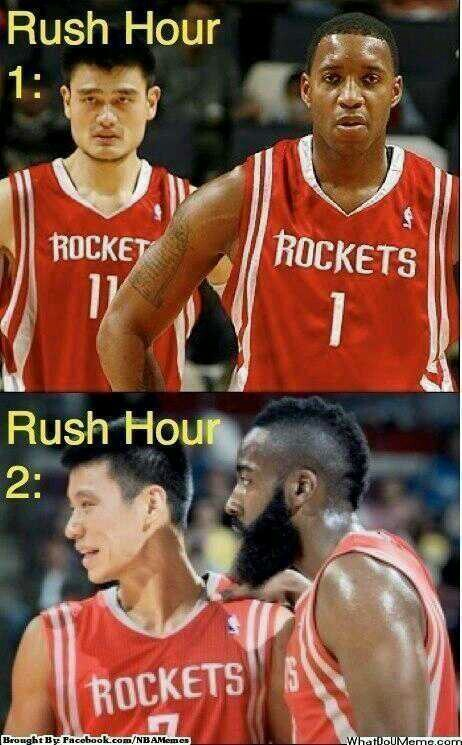 Pinned by Gary CooperRush Hour 4 Jeremy Lin James Harden