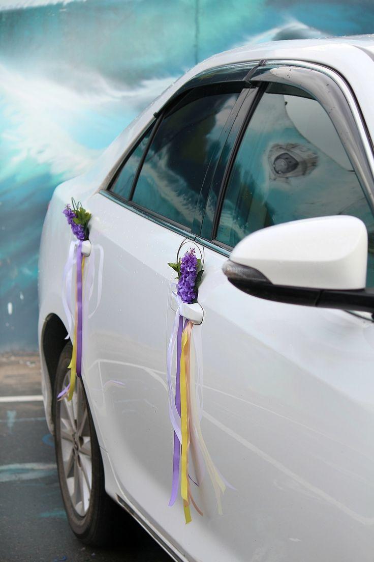 Как закрепить украшения на автомобиль для свадьбы Как украсить 28