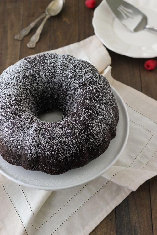 Chocolate Sour Cream Bundt Cake - Olga's Flavor Factory