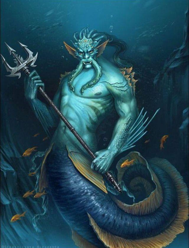 Merman | Magic waters | Pinterest