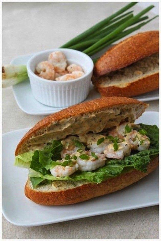 Shrimp Po Boy | Recipe