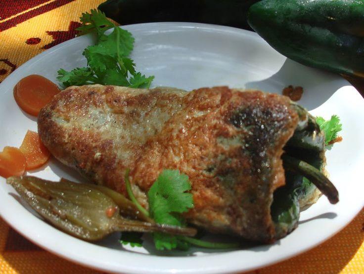 Authentic Mexican Chile Relleno Recipe | Chile Rellenos