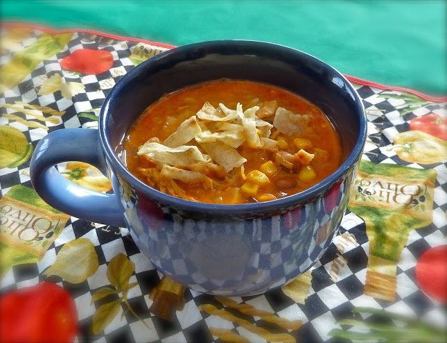 ... Chicken Enchilada Soup, recipe, cooking, slow cooker recipes #