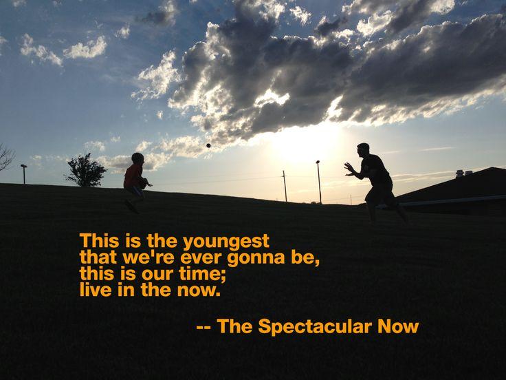 (for The Spectacular Now) | s u b t i t l e s | Pinterest