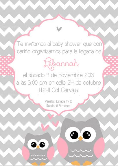 Baby Girl Owl Shower Invitations was perfect invitation ideas