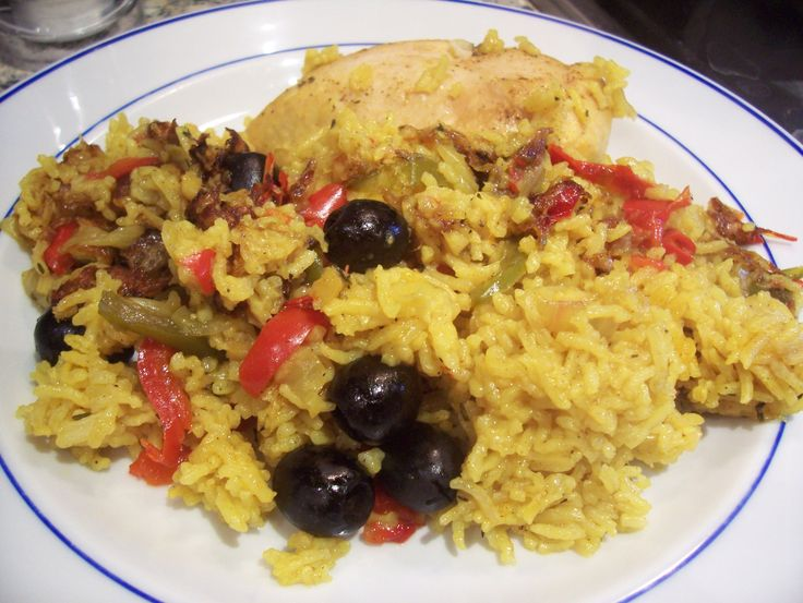 Puerto Rican Rice | Puerto Rican Chicken and Rice | Searching for ...