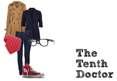 Fun fashion inspired by Doctor Who - 10th Doctor