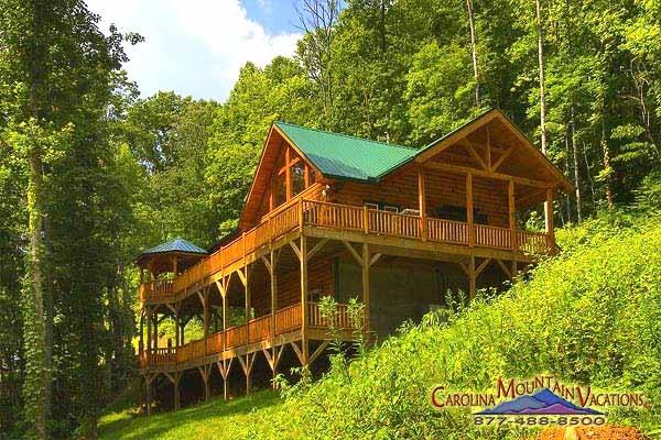 Two Story Hillside Cabin For The Home Pinterest