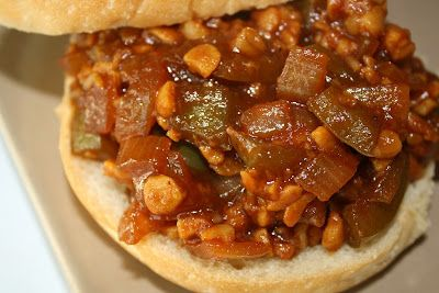 The Garden Grazer: BBQ Tempeh Sloppy Joes