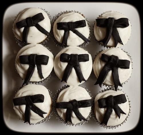 Black Tie cupcakes | Just Desserts! | Pinterest